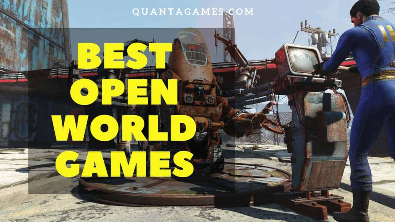 best open world games pc