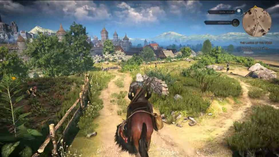 the witcher 3 wild hunt gameplay