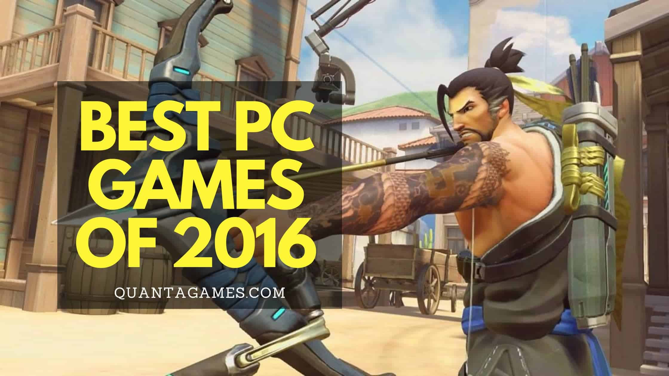 best pc games 2016