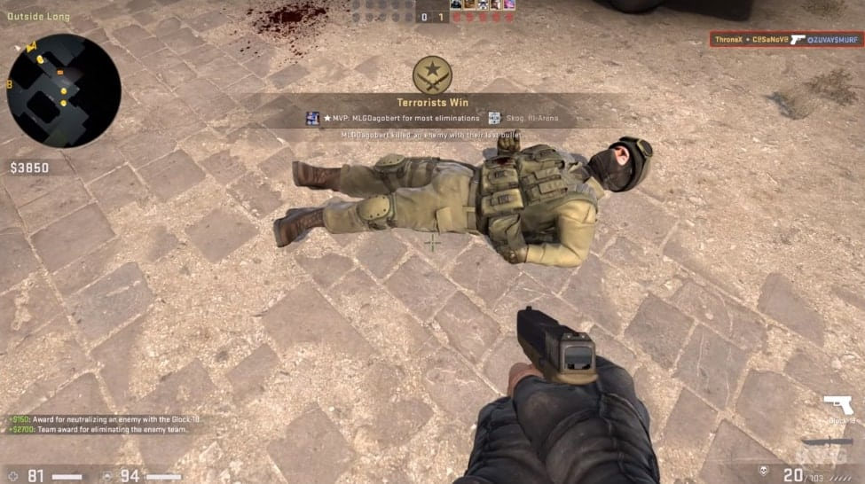 counter strike global offense gameplay
